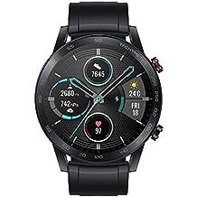 Honor Magicwatch 2 Smart Watch Da 46 Mm, Con Cardiofrequenzimetro, Modalità Di Esercizio, 14 Giorni In Standby, Altoparlante E Microfono Integrato, Colore: Nero/Carbone