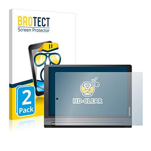 BROTECT Schutzfolie für Lenovo Yoga Tab 3 Plus [2er Pack] - klarer Displayschutz