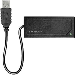 Speedlink Q-Nect Wii/Wii U Lan Adapter (verbindet den Router mit der Nintendo-Konsole)