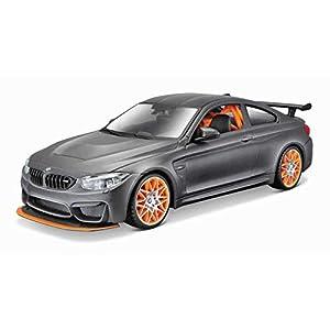 Maisto-1/24 - Kit de Metal para casa BMW M4 GTS Coche, M39249, Color Negro