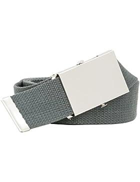 Shenky - Cinturón de tela - 4 cm de ancho - Tamaño XL de 160 cm - Varios colores