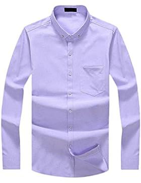 La Camisa De Los Hombres Otoño E Invierno Camisa De Manga Larga De Algodón Casual Camisa De La Camisa