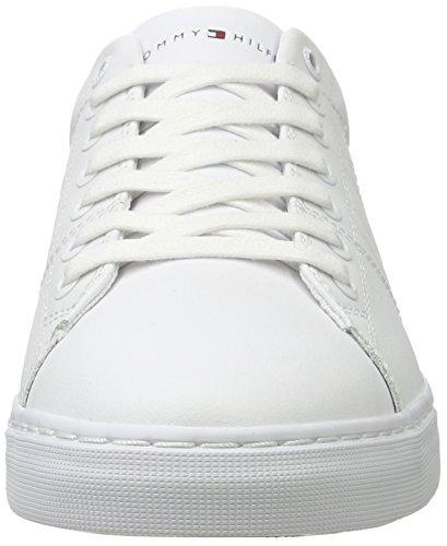 Tommy Hilfiger J2285ay 9, Baskets Basses Homme Blanc (White)