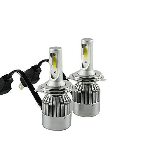 TXVSO8 H4 HB2 9003 Hi/Lo 110W LED COB Faro dell\'automobile Kit 9200LM 6000K Bianco Lampade Lampadine, 55W/Bulb