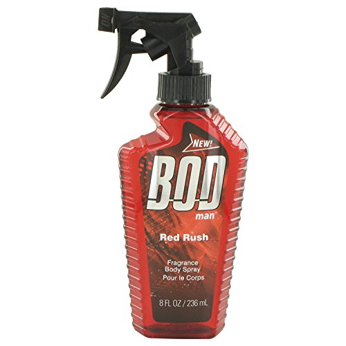 Bod Man Rouge Rush de Parfums de Coeur Pour Homme Body Spray 8 oz 237 ml