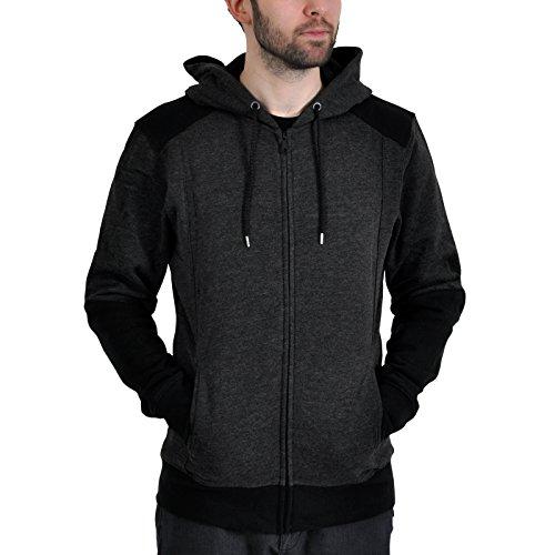 Assassin's Creed IV: Black Flag Zipper Hoodie Kapuzenpullover Jacke Kapuzenjacke Pullover Sweatjacke: Character (Schwarz/Grau) Größe S - XXL (X-Large)