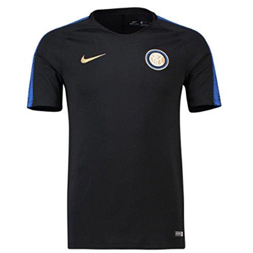 Nike 2018-2019 Inter Milan Training Shirt (Black) (Inter-fußball)