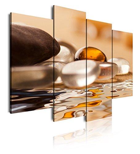 Dekoarte 162 - Cuadro moderno lienzo 4 piezas estilo
