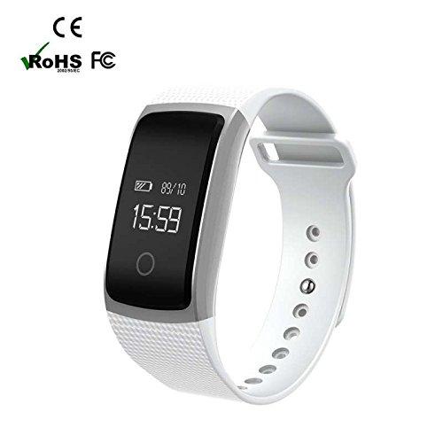Fitness Armband Schrittzähler Armbanduhr Aktivitätstracker Bluetooth Touchscreen Sport Aktivitätstracker Schrittzähler / Kalorienzähler /Anrufe/SMS Smartwatch,LED Digital Alarm Stoppuhr Wasserdicht für Android/sony/apple/ios