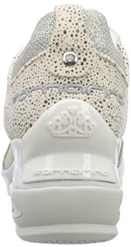 Fornarina - Daily, Sneaker alte Donna Bianco (Weiß (White 0900))