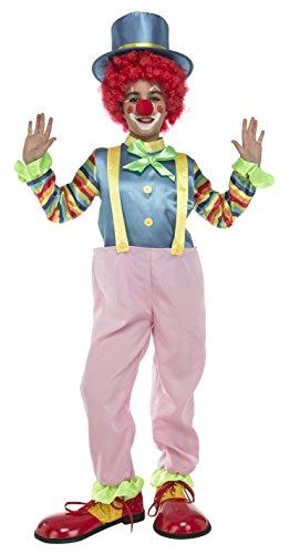 Imagen de my other me  disfraz de payaso con aro para niño, 7 9 años viving costumes 204901
