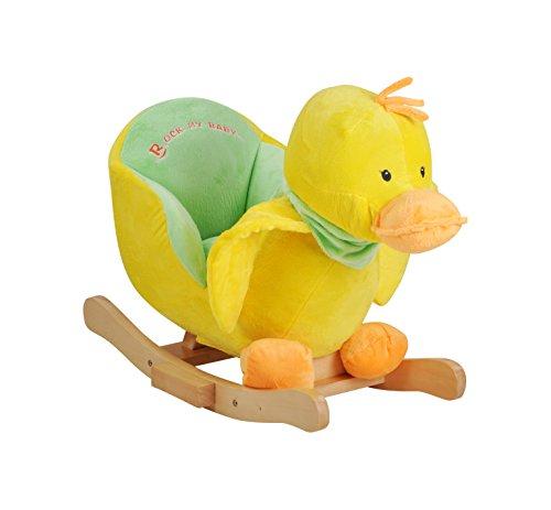 Knorrtoys 40318 - Schaukeltier Duck mit Sound