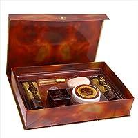 Shams Al Emarat Khususi Gift Set (EDP 100ml&20ml, Powder, Body Lotion 100ml, Soap & Shower Gel 100ml)