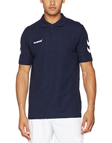 Hummel Polo Core, Marine, L, 02-431-7026 (2-knopf-polo-shirt)