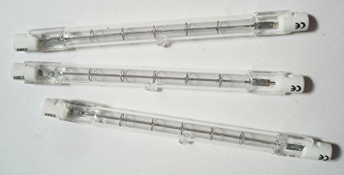 3Tubi Alogeni R7S 118mm 230V ~-230W