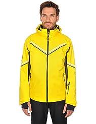 Völkl Performance Wear de esquí para hombre Chaqueta Rush, otoño/invierno, hombre, color Amarillo - amarillo, tamaño 46