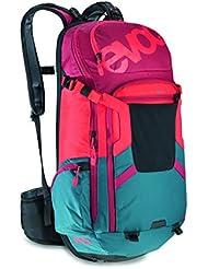 Evoc Rucksack FR Trail Team, petrol/red/ruby, 50 x 27 x 14 cm, 20 Liter, 7015218701