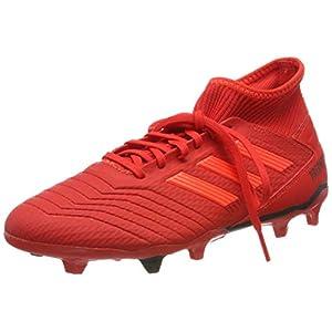 Adidas Predator 19.3 FG, Botas de fútbol para Hombre, Multicolor (Rojact/Rojsol/Negbás 000), 43 1/3 EU