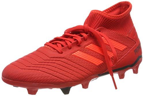 Adidas predator 19.3 fg, scarpe da calcio uomo, multicolore (rojact/rojsol/negbás 000), 41 1/3 eu