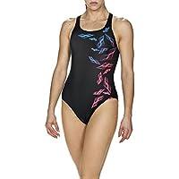 arena Damen Sport Badeanzug Maracala (Schnelltrocknend, UV-Schutz UPF 50+, Chlor-/Salzwasserbeständig)