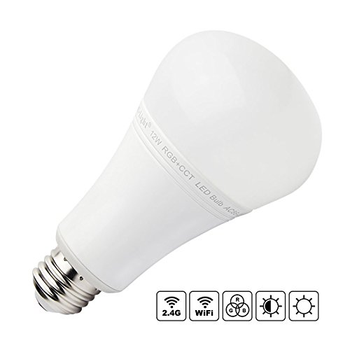 Bombilla LED WiFi E27 Bulb 12W RGB+CCT, , Regulable