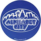 Slipmat Alphabet City (Doppelpack)