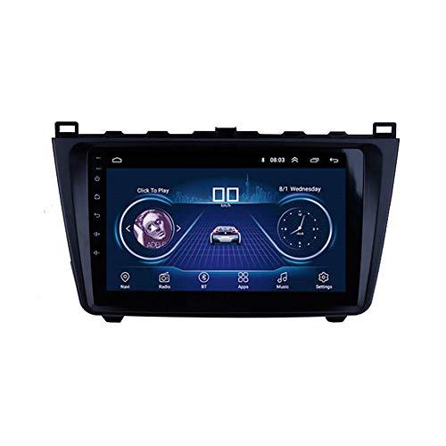 Lionet GPS-Navigation für Mazda 6 Rui Wing, 2008-2015, 22,9 Zoll, Android 8.1, WLAN, 1G/16G, GPS-Navigation, Radio, HiFi, Bluetooth, lebenslange Karte Fahrzeug GPS Navigator - 6 Radio Mazda