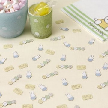 Baby Miffy Table Confetti by CSC Imports (White House Logo)