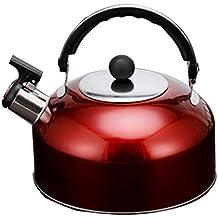 Gazechimp Flötenkessel, zu Hause / im Freien Herd Wasserkocher, Teekesse - Rot