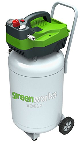 Greenworks Tools 4101907 Compresor De Aire Vertical
