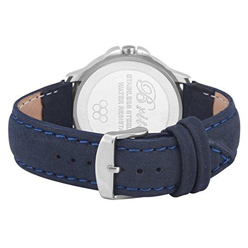 Limestone Analog Blue Dial Mens Watch (Ls2666)