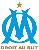 Olympique DE Marseille - Football Club Crest Logo Wall
