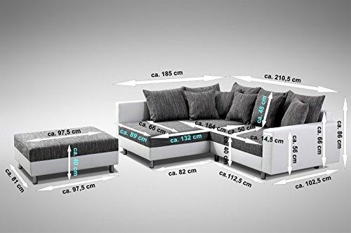Ecksofa Couch –  günstig Modernes Sofa Couch  Eckcouch Bild 3*