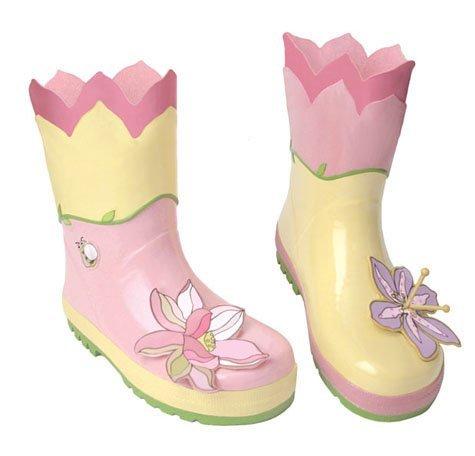 Kidorable Originale di Marca Stivali da pioggia gomma Loto per bambini, ragazze, ragazzii ... (31)
