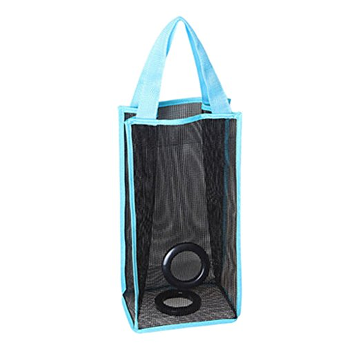 garbage-bleu-kitchen-bag-plastic-holder-hanging-sac-de-rangement-set-of-2