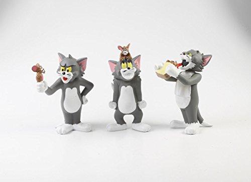 3 x Tom und Jerry Figuren Plastoy