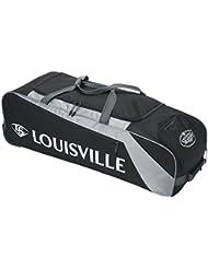 Louisville Slugger EB Series 3Rig equipo de béisbol bolsas - WTLEBS3RG6-BK, Negro