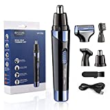 Rechargeable Nose Hair Trimmer BESTOPE 4 in 1 Facial Hair Trimmer Set