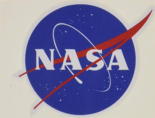 Nasa Seal USA Space Cosmos Logo Vinyl Sticker 2 by Nasa