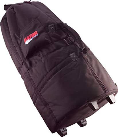 Protechtor Percussion Padded Conga Bag with Adjustable Strap with Wheels