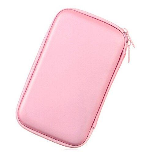 Leegoal (TM) Portable Festplatte stoßfest Case für Seagate WD Toshiba 8,9cm HDD Tragetasche Tasche (Direct-drive-verschluss)
