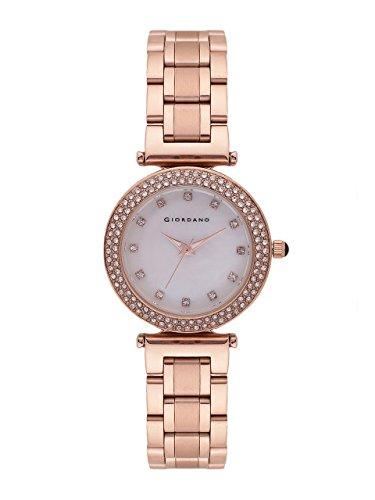 Giordano C2029-22 Women's Analog Watch - White Dial