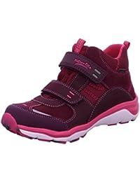Superfit 7-00239-40 - Botas de Piel para niña Rosa rosa 26, color Rosa, talla 33
