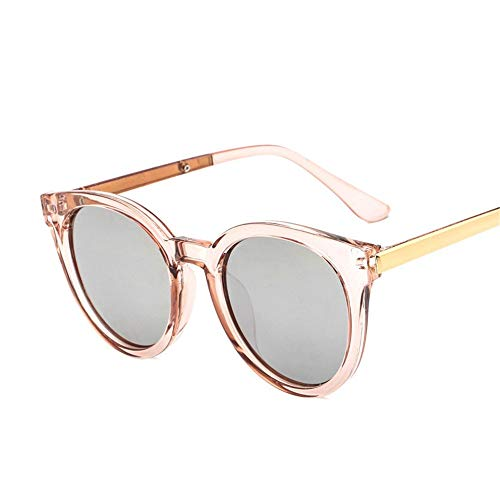 Yiph-Sunglass Sonnenbrillen Mode Retro Polarized UV Protection 400 Männer und Frauen Sonnenbrillen Fahren Angeln Golf außerhalb Reise Schutz Sonnenbrillen (Farbe : Champagne, Größe : Free Size)