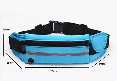 OOFWY Borse Bum Fanny Pack, pacchetto Sport Waist, cintura di running, borsa a tracolla per sport all'aperto, per uomini e donne sportivi, adatto per viaggiare, arrampicata , C C