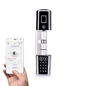 We lock passwort und bluetooth smart door lock for Sicherheitsschloss offnen