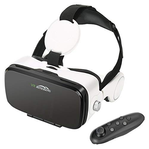 VR Brille , AOGUERBE 3D VR Virtuelle Realität Virtual Headset Box für VR...