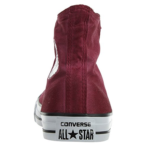 Converse Mujer Chuck Taylor All Star Hi Top Textil Entrenadores Rojo
