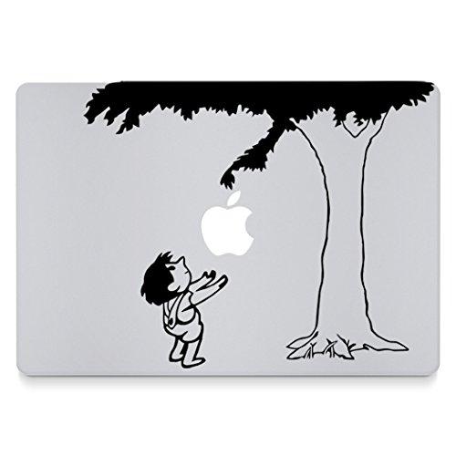 "Fruitopia - Vinyl Macbook Decal for MacBook Pro/Air 13"" - Black"