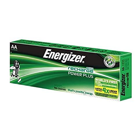 Energizer 2000MAh AA Rechargeable Battery (Pack of 10)
